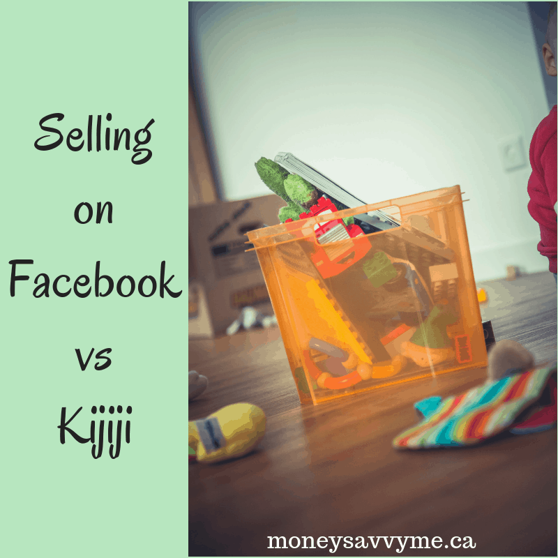 Selling on Facebook vs. Kijiji