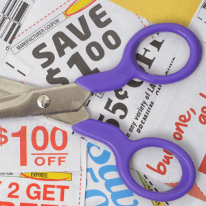 using coupons to save on baby supplies