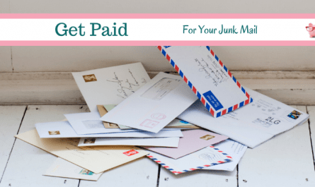 get paid for junk mail