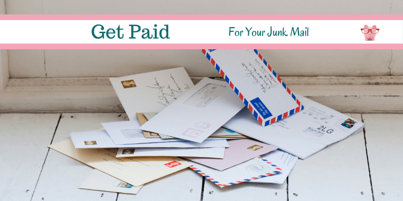 Get Paid For Your Junk Mail!