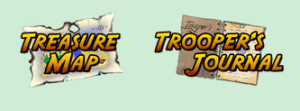 Treasure Trooper Treasure Map