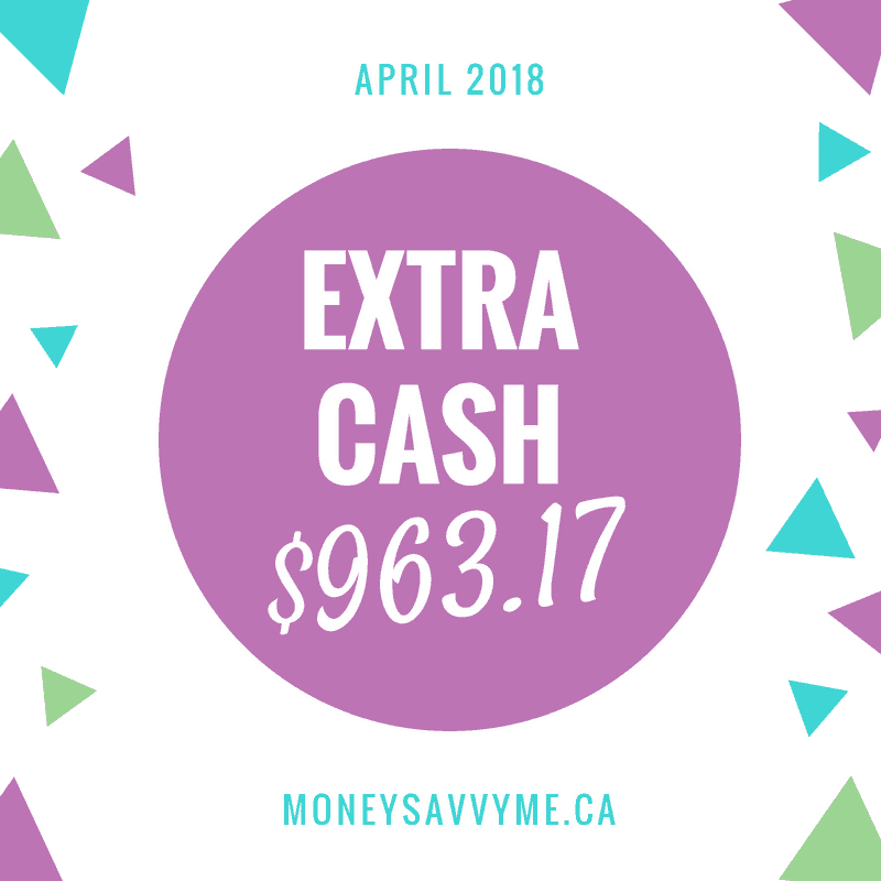 Extra Cash – April 2018
