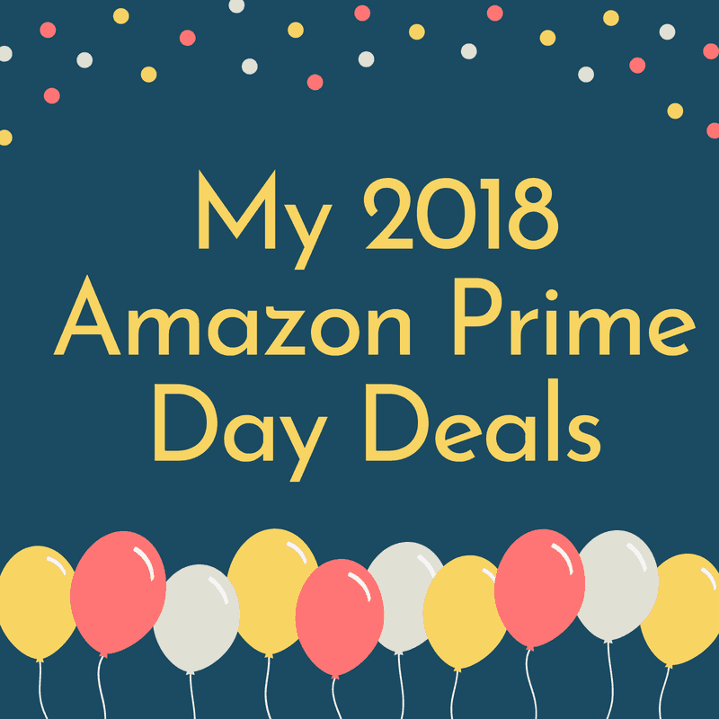My Amazon Prime Day Deals