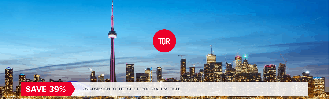 Save 39% on Admission to Toronto's Top 5 Destinations