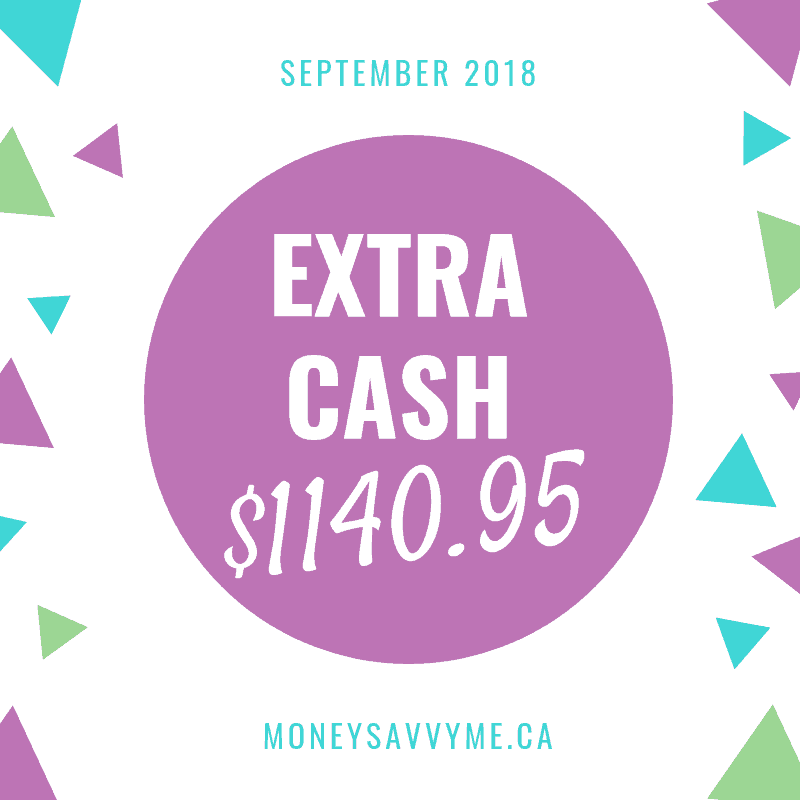 Extra Cash – September 2018
