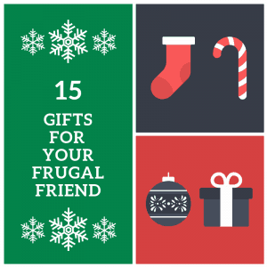Gifts for frugal people