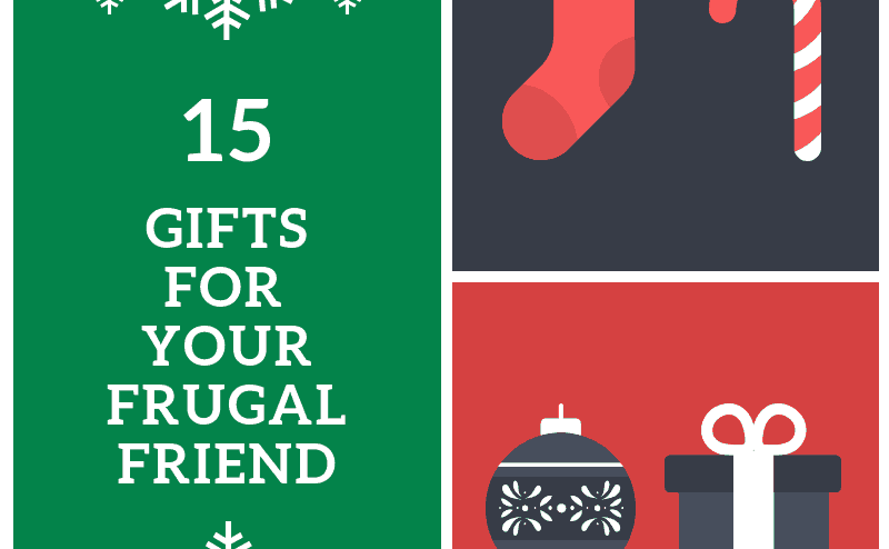 Gift ideas for frugal people