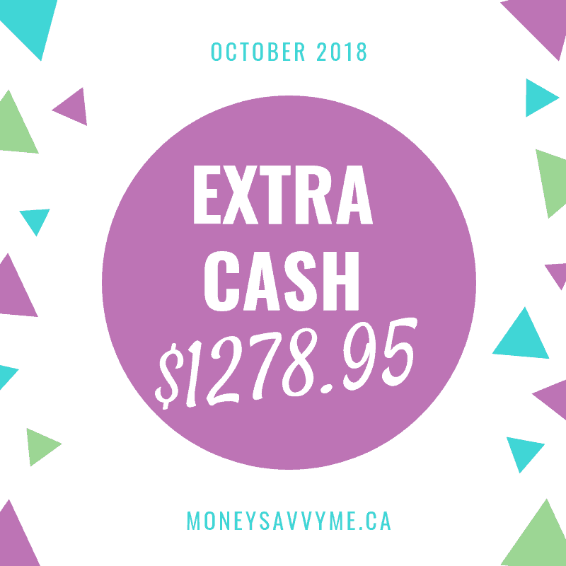 Extra Cash – October 2018