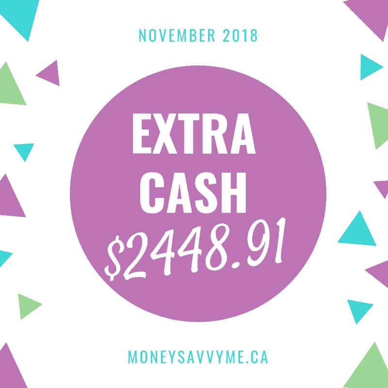 Extra Cash – November 2018