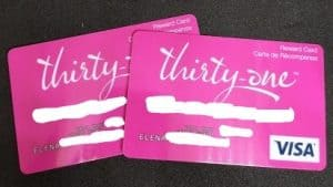 Thirty-One Gifts Visa Gift Cards