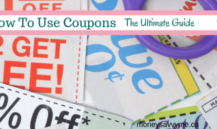 using coupons in Canada for beginners