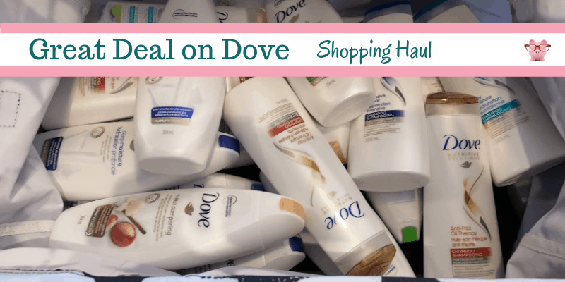 Shopping Haul – Dove for 55 Cents!!!
