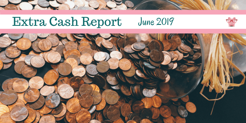 Extra Cash Report For June 2019