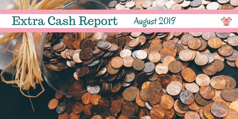 Extra Cash Report for August 2019