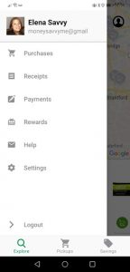 how to find referral code in flash food app