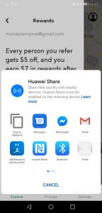 ways to share your flash food referral code