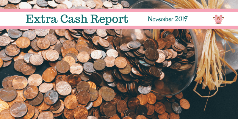 Extra Cash Report for November 2019