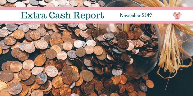 Extra Cash Report for November 2019