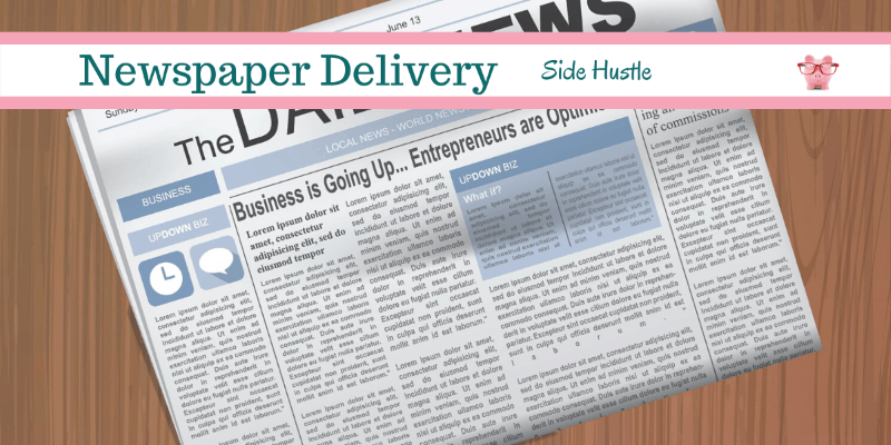 Side Hustle Idea: Newspaper Delivery