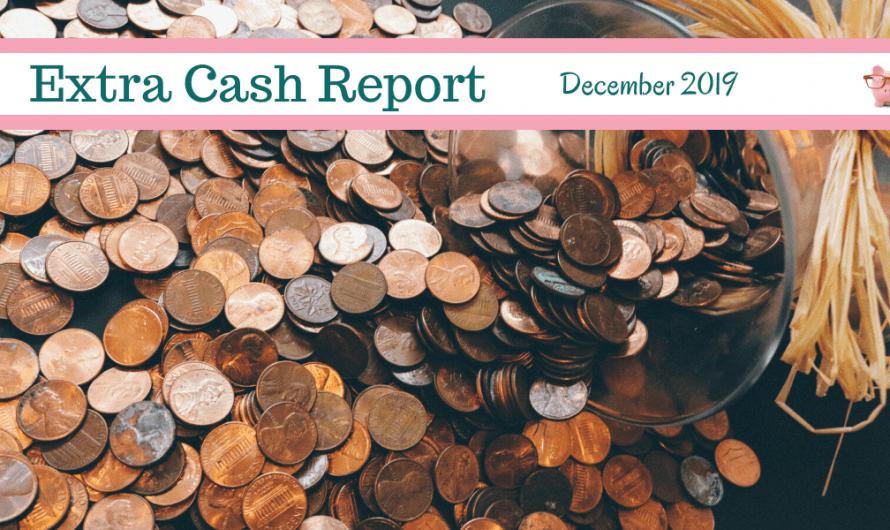 Extra Cash Report for December 2019