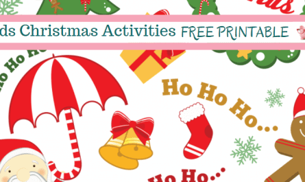 Free Christmas Activities for Kids