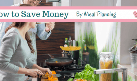 money saving meal planner