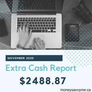 Ways to make extra money in Canada November 2020